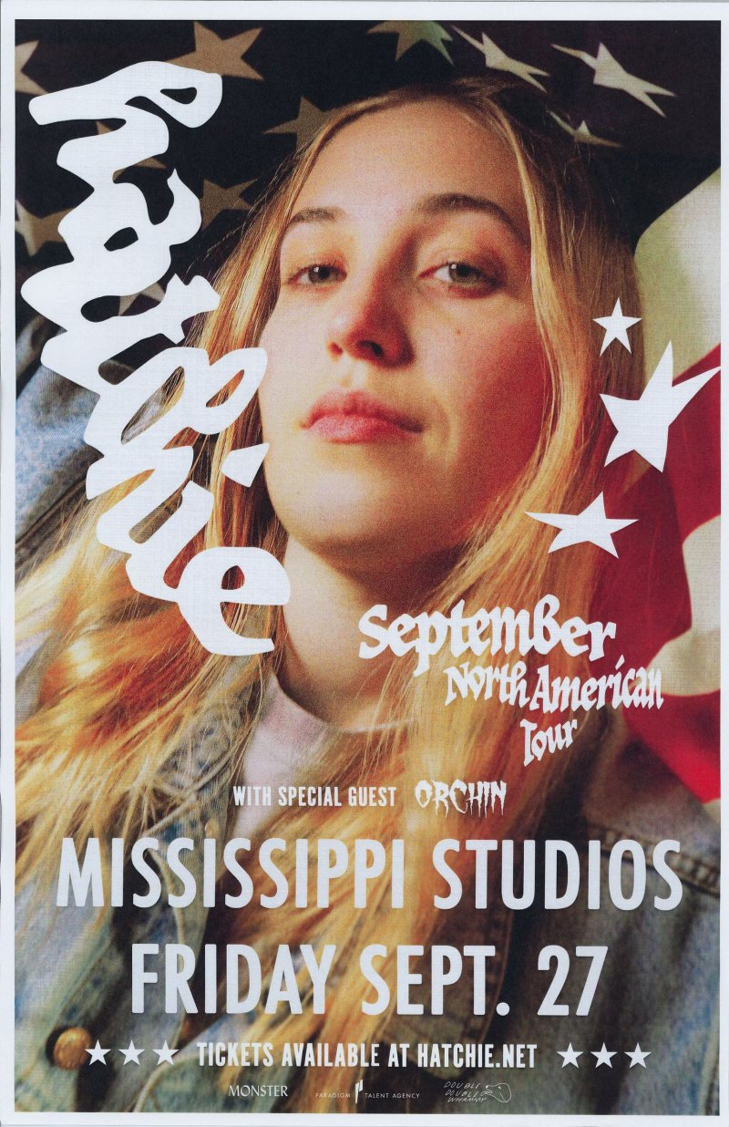 Image 0 of HATCHIE 2019 Gig POSTER Portland Oregon Concert