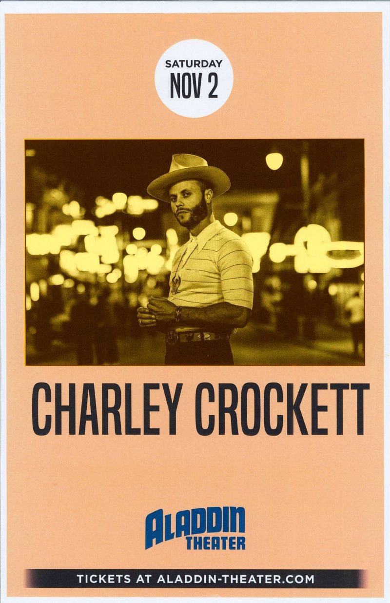 Image 0 of Crockett CHARLEY CROCKETT 2019 Gig POSTER Portland Oregon Concert