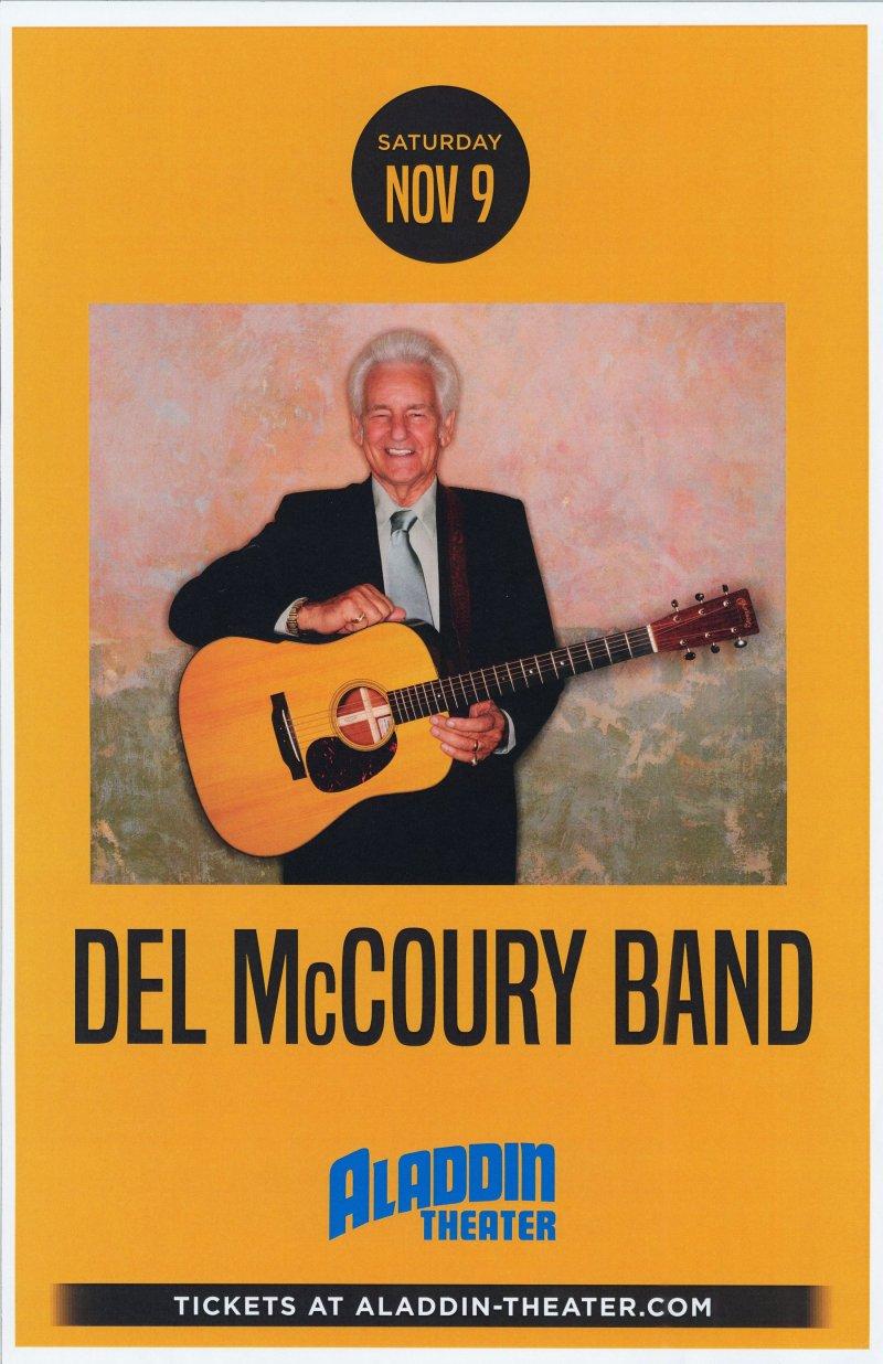 Image 0 of McCoury DEL McCOURY 2019 Gig POSTER Portland Oregon Concert