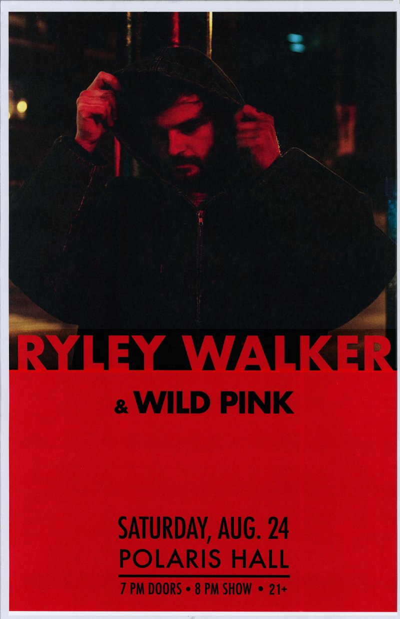 Image 0 of Walker RYLEY WALKER 2019 Gig POSTER Portland Oregon Concert