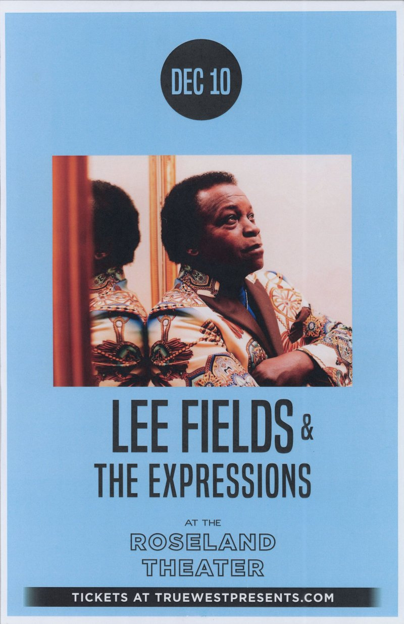 Fields LEE FIELDS 2019 Gig POSTER Portland Oregon Concert