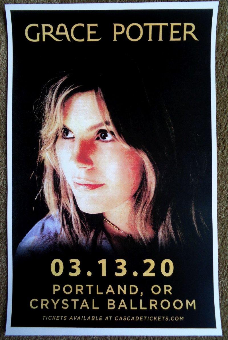 Image 0 of Potter GRACE POTTER 2019 Gig POSTER Portland Oregon Concert