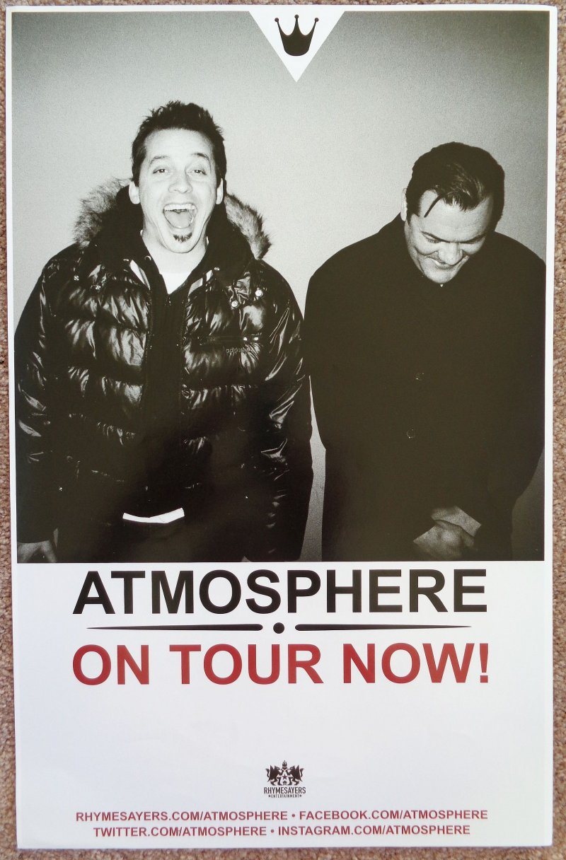 Image 1 of ATMOSPHERE Album POSTER Southsiders 2-Sided 2014 Tour