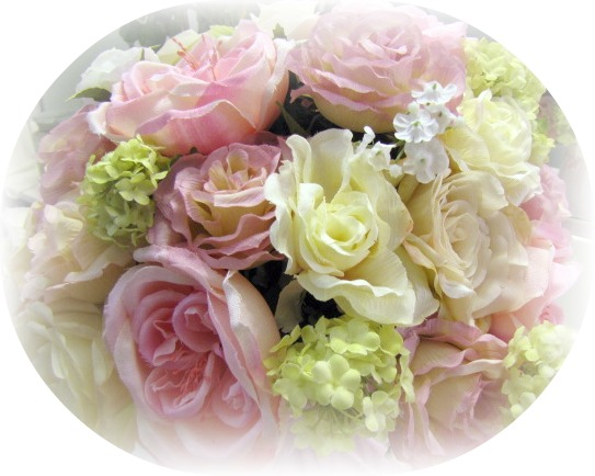 Image 1 of Pink Roses Medium Flower Arrangement