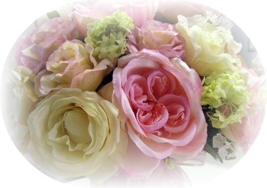 Image 2 of Pink Roses Medium Flower Arrangement