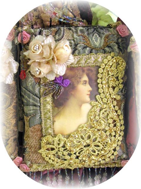 Victorian Sachet Pillows : Victorian Splendor Sachets