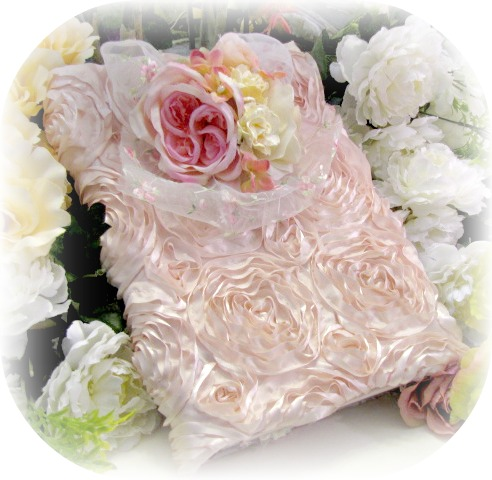 Image 1 of Rose Blush Cottage Collection Large Photo Album