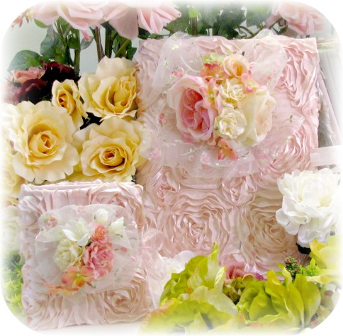 Image 4 of Rose Blush Cottage Collection Large Photo Album