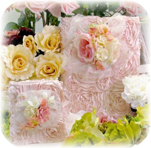 Image 4 of Rose Blush Cottage Collection Large Photo Album