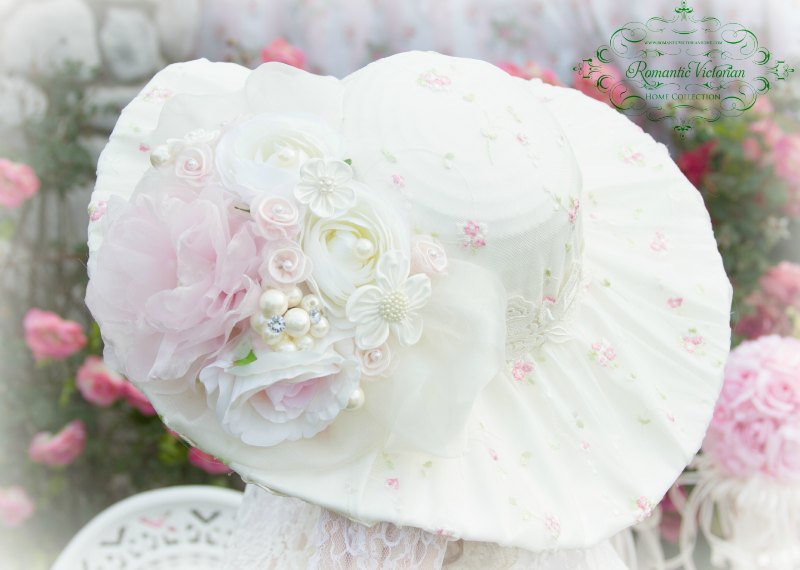 Image 0 of Victorian Rose Ivory Hat