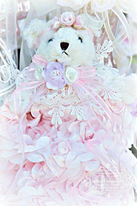 Image 0 of Rose Blush Teddy Bear