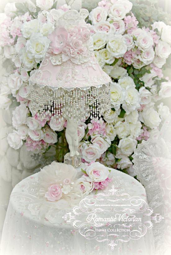 Image 2 of Climbing Roses Medium Lamp Shade (shade only)