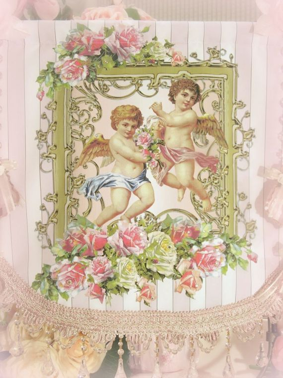 Image 1 of Crystal Roses Wall Tapestries