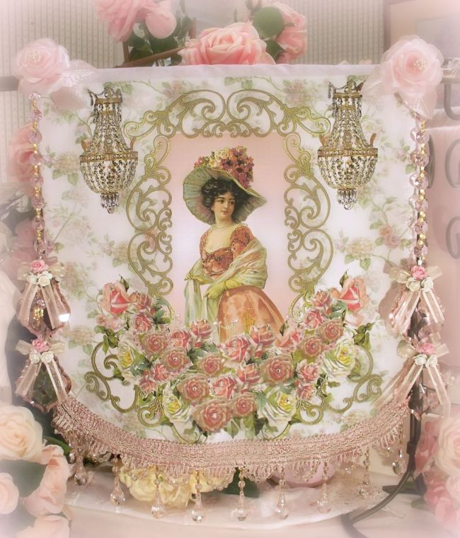 Image 4 of Crystal Roses Wall Tapestries