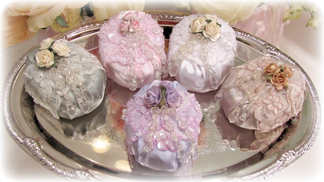 Image 1 of Beaded Roses Soaps