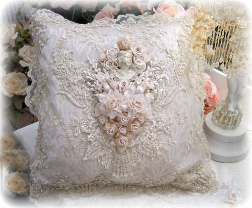 Image 0 of Gilded Opulence Square Pillow