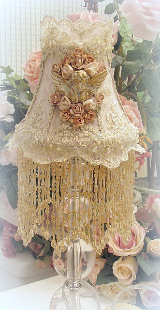 Image 0 of Gilded Opulence Small Lamp Shade