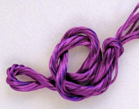Grape Purple Petite Satin Cord