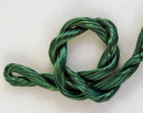 Leafy Green Petite Satin Cord