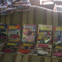 1990 STREET RODER 12 ISSUES MAGAZINES