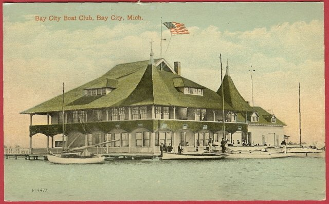 Boat Club Bay City Michigan