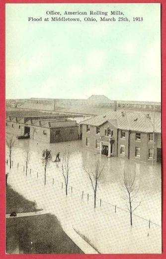 Flood 1913 Middletown Ohio