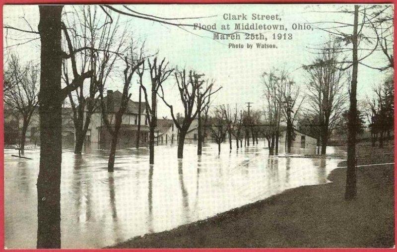 Flood 1913 postcard