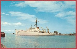 Coast Guard cutter Mackinaw Cheboygan Michigan Retired