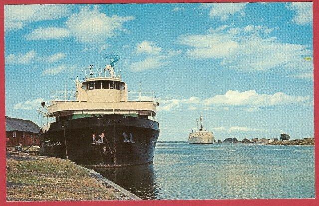 Image 0 of Oil Tanker Coast Guard cutter Mackinaw Cheboygan Michigan Ships