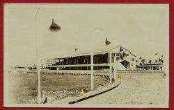 Hollywood FL Postcard Kennel Club Race Track RPPC BJs