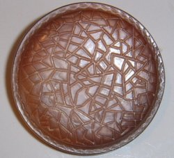 Large Bronze Coat Button