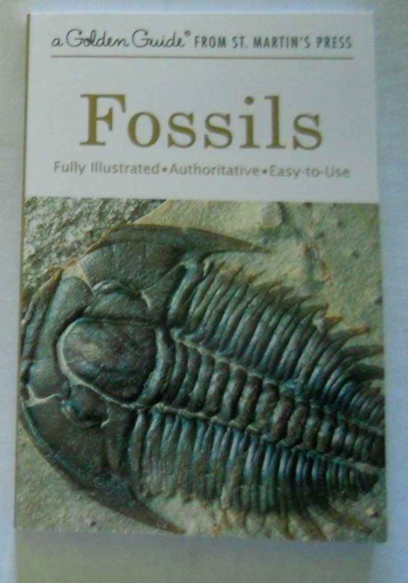 Fossils Golden Guide Book Fully Illustrated
