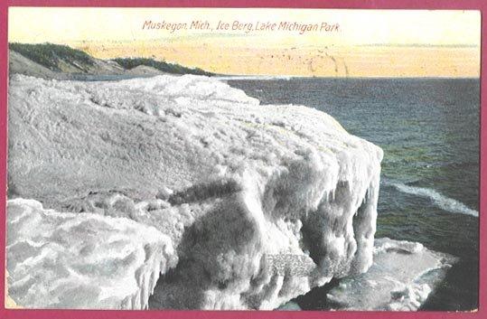 Lake Michigan Park Iceberg
