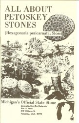 All About Petoskey Stones Booklet Out of Print