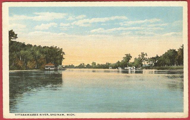 Tittabawassee River Saginaw Mi
