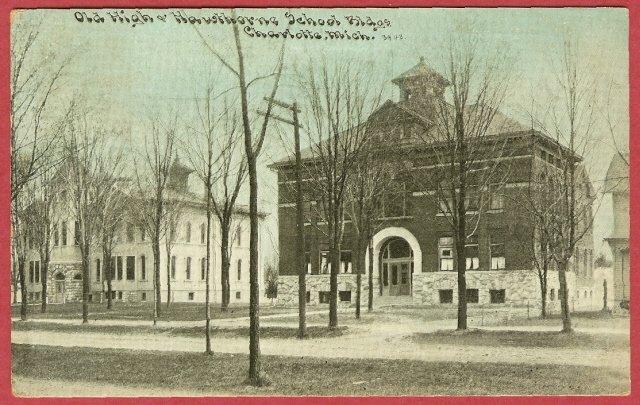 Charlotte Mi High School Hawthorne School Buildings