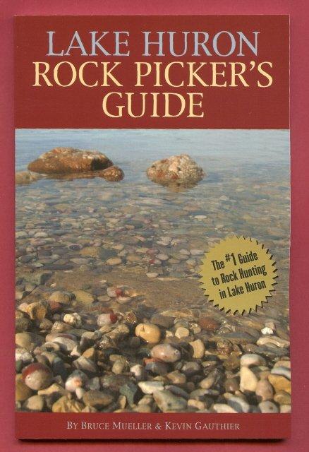 Lake Huron Rock Pickers Guide Stones MI Book