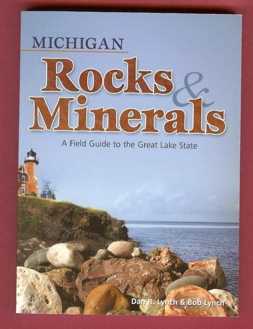 Michigan Rocks & Minerals Book Lynch