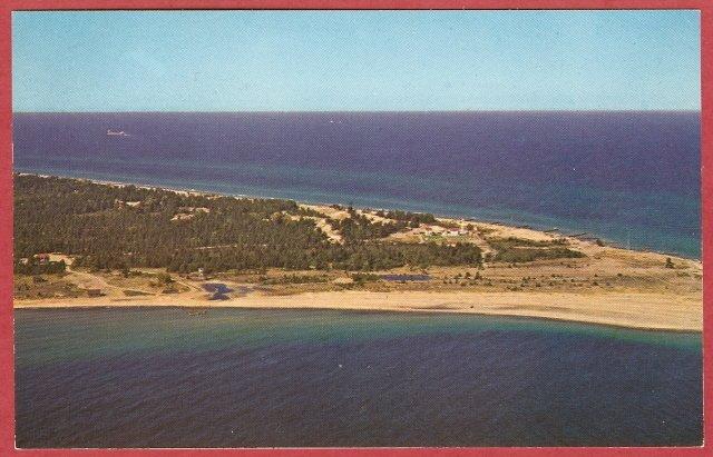 Image 0 of Whitefish Point Michigan Postcard Upper Peninsula
