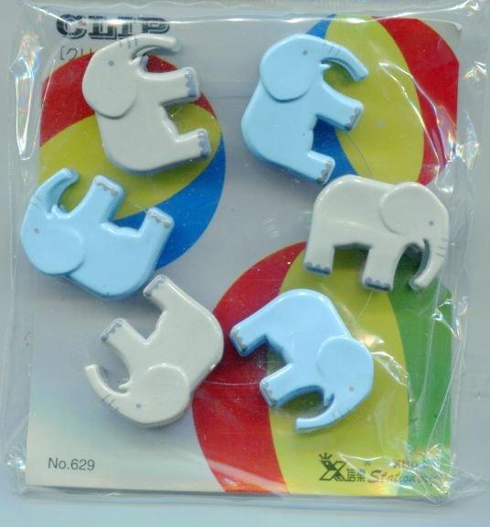 elephant paper clips