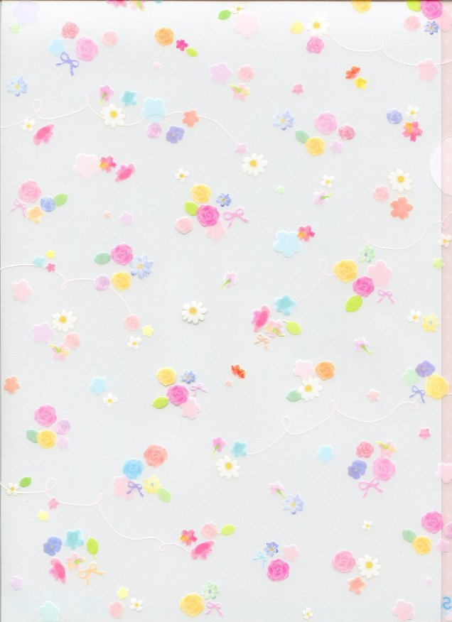 Image 0 of San-X Palette's Color A4 Plastic File Folder #7
