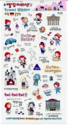 Thumbnail of Korea Anne Travel Sticker Deco Sticker Sheet Part 1 #6 (I1012)