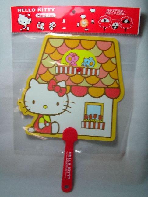 Image 0 of Sanrio Hello Kitty Die Cut Plastic Hand Fan #1