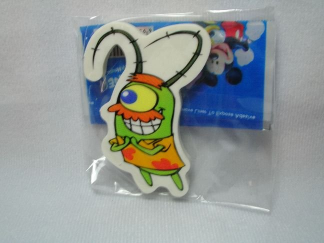 Image 0 of SpongeBob and SquarePants Eraser #5 (S0357)