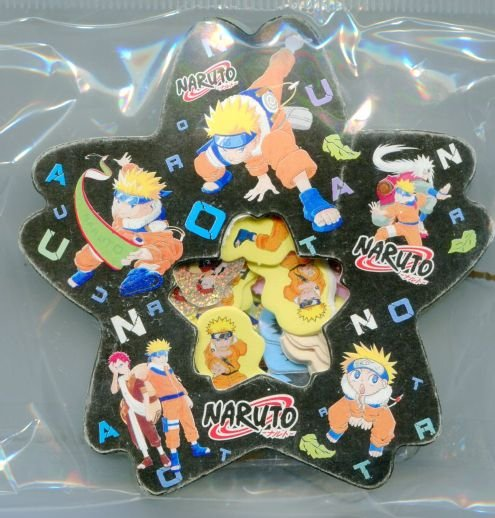 Image 0 of Naruto Sticker Set Pack Sack #3