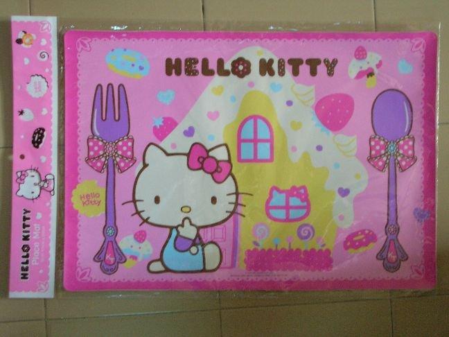 Image 0 of Sanrio Hello Kitty Plastic Place Mat #1