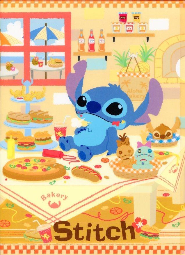 Image 0 of Disney Stitch A4 Plastic File Folder #9