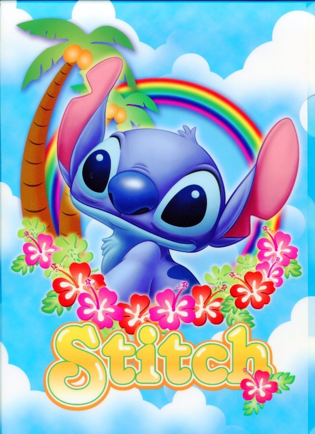 Image 0 of Disney Stitch A4 Plastic File Folder #12