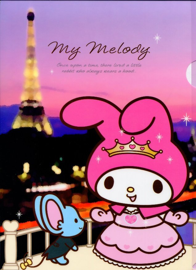 Image 0 of Sanrio My Melody Travel A4 Plastic File Folder #1