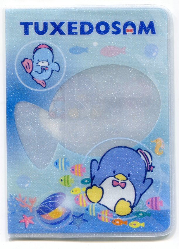 Image 0 of Sanrio Tuxedosam Shiny Passport Cover Holder #1 (SH0065)